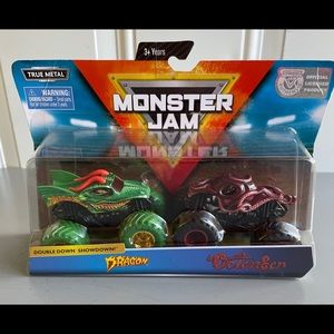 Bundle: NWT 3 Monster Jam diecast Trucks